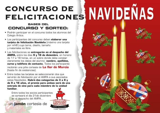Cartel concurso felicitaciones 2015