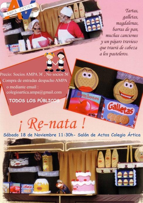 cartel_renata títeres