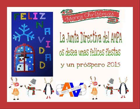 Felicitación AMPA Navidad 2014