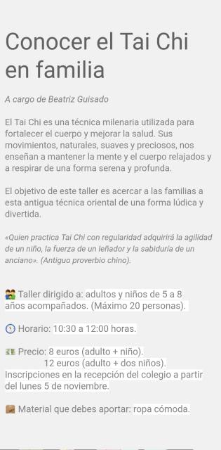 TAICHI E FAMILIA